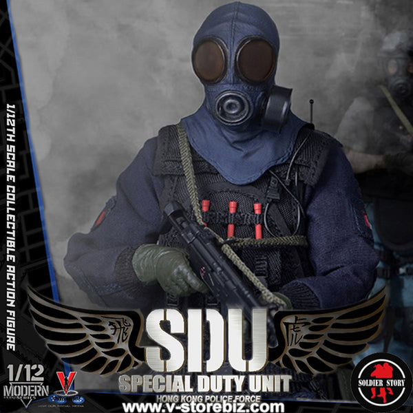 Soldier Story 1/12 SSM002 Hong Kong SDU Assault Team
