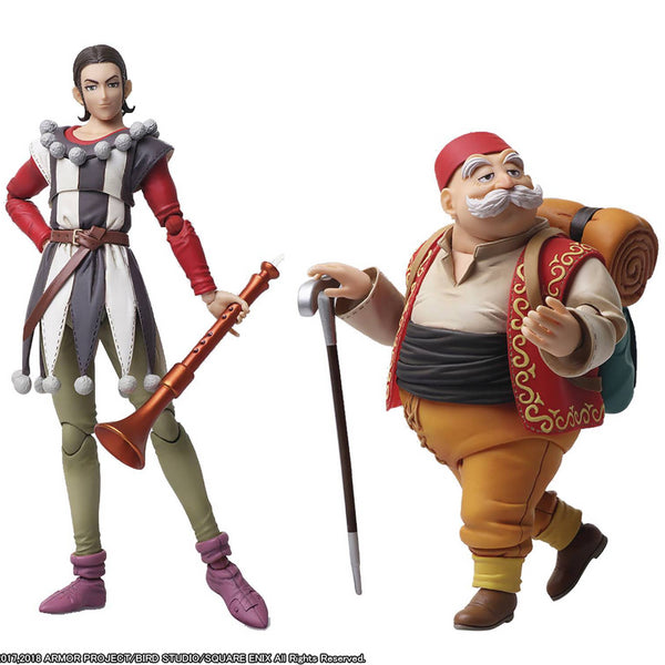 Square-Enix Bring Arts Dragon Quest XI Sylvando & Rab