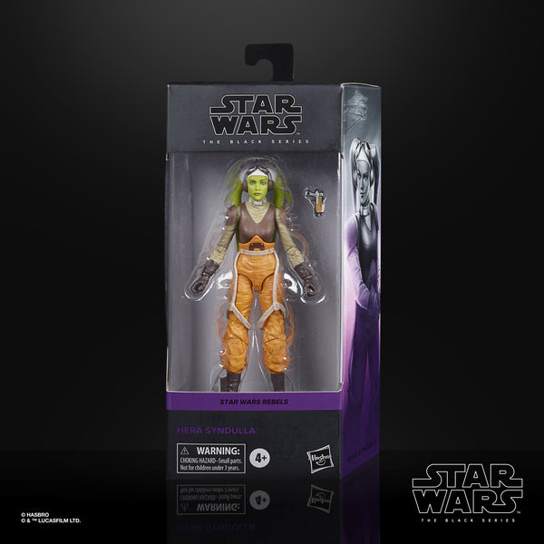 Star Wars The Black Series Hera Syndulla (Rebels) 6-Inch Action Figure