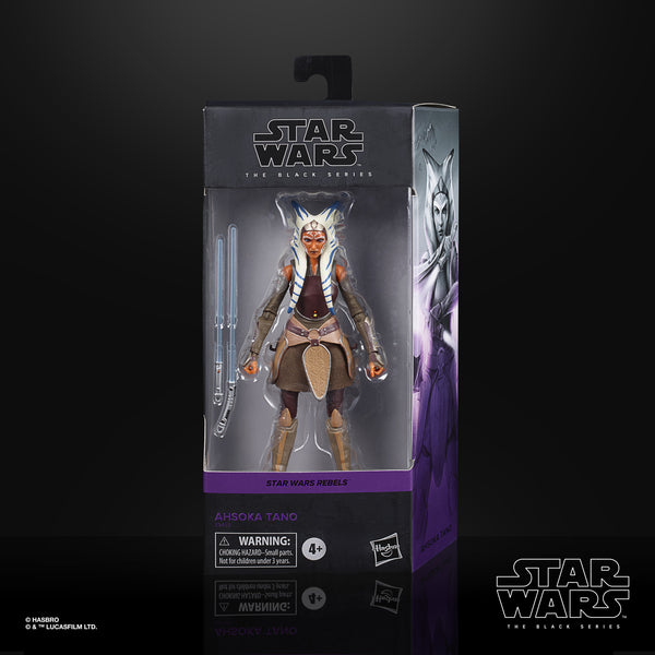 Star Wars The Black Series Ahsoka Tano (Rebels) 6-Inch Action Figure