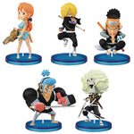 One Piece World Collectable Figure WCF Wano Country Style 2 Set of 5 Figures