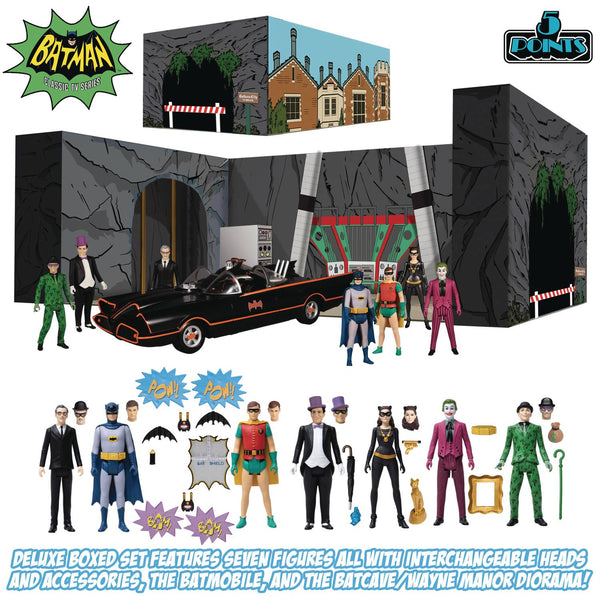 5 POINTS BATMAN 1966 AF DLX BOX SET