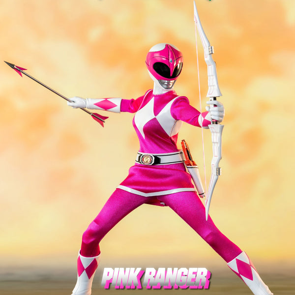 MIGHTY MORPHIN POWER RANGERS PINK RANGER 1/6 SCALE