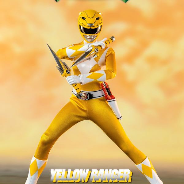 MIGHTY MORPHIN POWER RANGERS YELLOW RANGER 1/6 SCALE