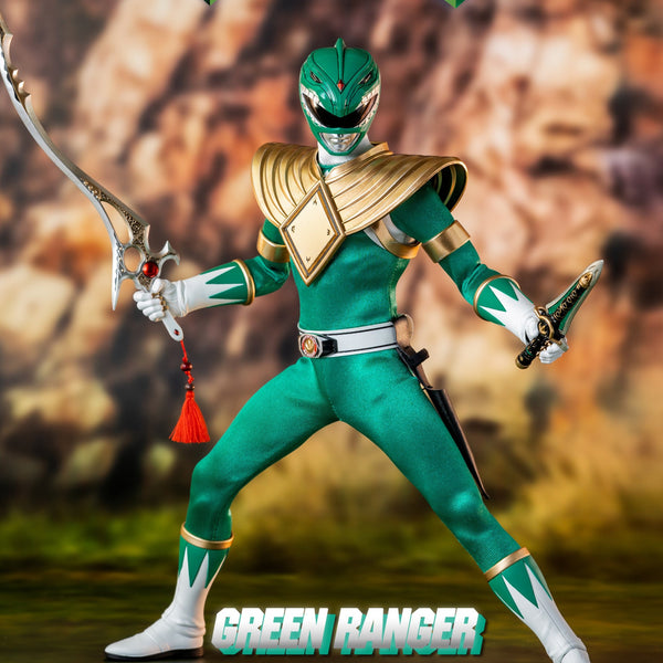 MIGHTY MORPHIN POWER RANGERS GREEN RANGER 1/6 SCALE