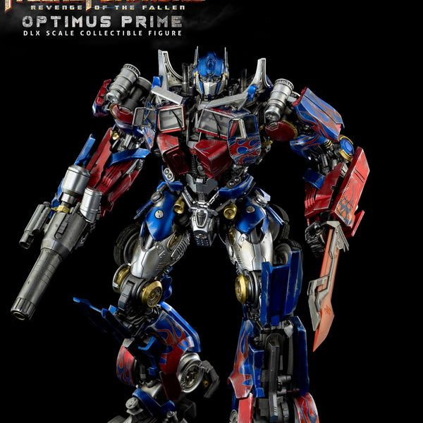 TRANSFORMERS ROTF OPTIMUS PRIME DLX SCALE