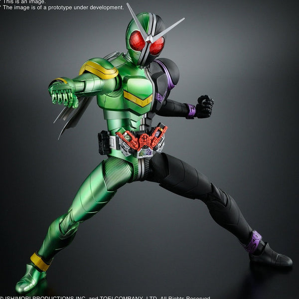 KAMEN RIDER W DOUBLE CYCLONE JOKER FIG-RISE ARTISAN MDL KIT