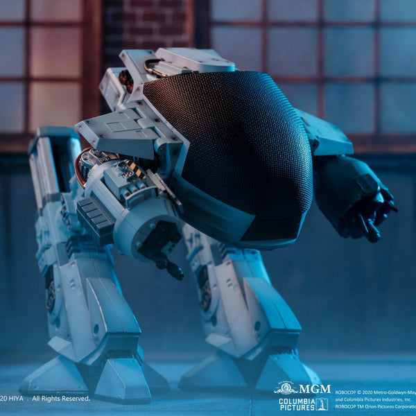 ROBOCOP BATTLE DAMAGED ED-209 PX 1/18 SCALE