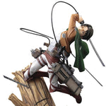 ATTACK ON TITAN LEVI ARTFX J STATUE RENEW PKG VER