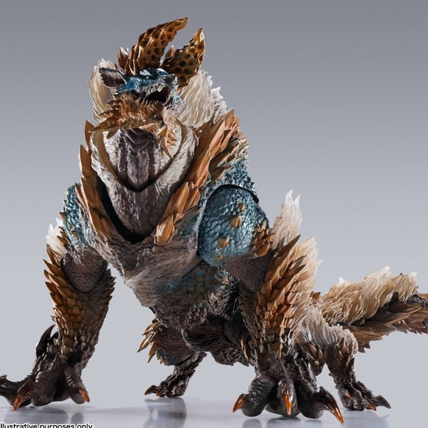 MONSTER HUNTER ICEBORNE ZINOGRE S.H. MONSTERARTS