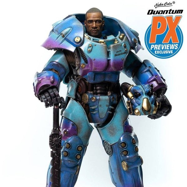 Threezero Fallout X-01 Power Armor Quantum Variant Previews Exclusive
