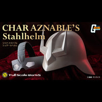 MEGAHOUSE MOBILE SUIT GUNDAM Full Scale Works 1/1 Char Asnabul Stahlhelm