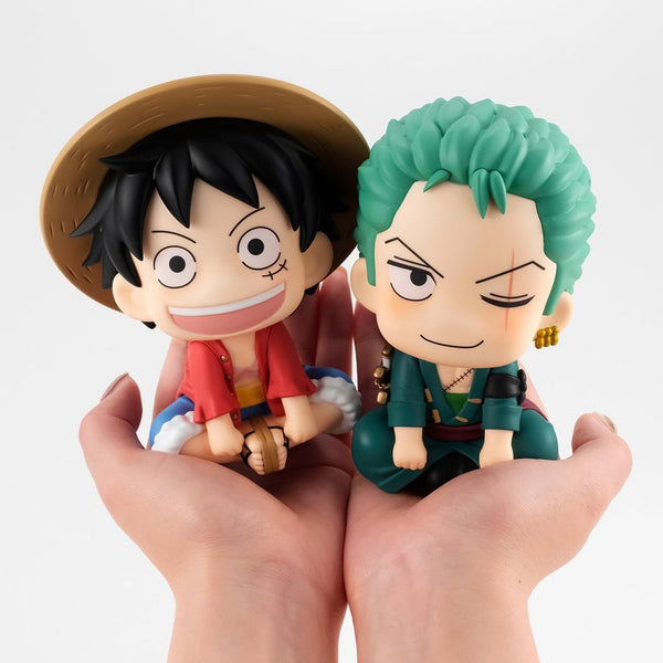 ONE PIECE MEGAHOUSE LOOK UP Luffy & Zoro SET 【with gift】