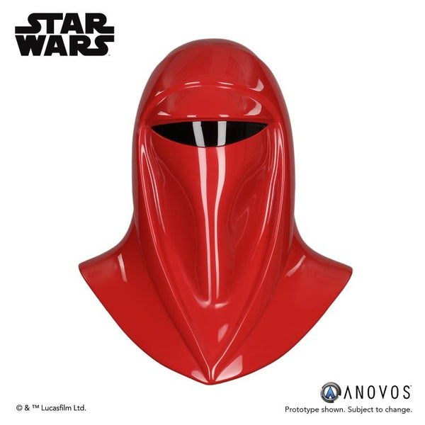 ANOVOS PRODUCTIONS STAR WARS IMPERIAL ROYAL GUARD HELMET PROP REPLICA
