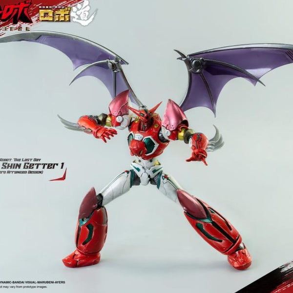 ROBO-DOU SHIN GETTER 1 ACTION FIGURE ANIME COLOR VER