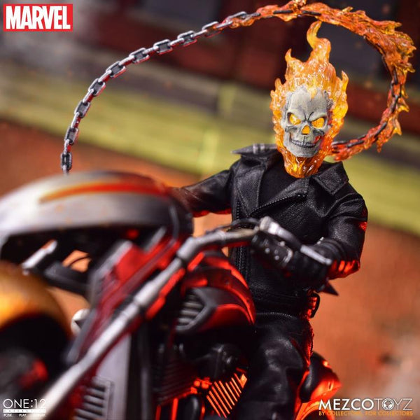 ONE:12 COLLECTIVE MARVEL GHOST RIDER & HELL CYCLE AF SET