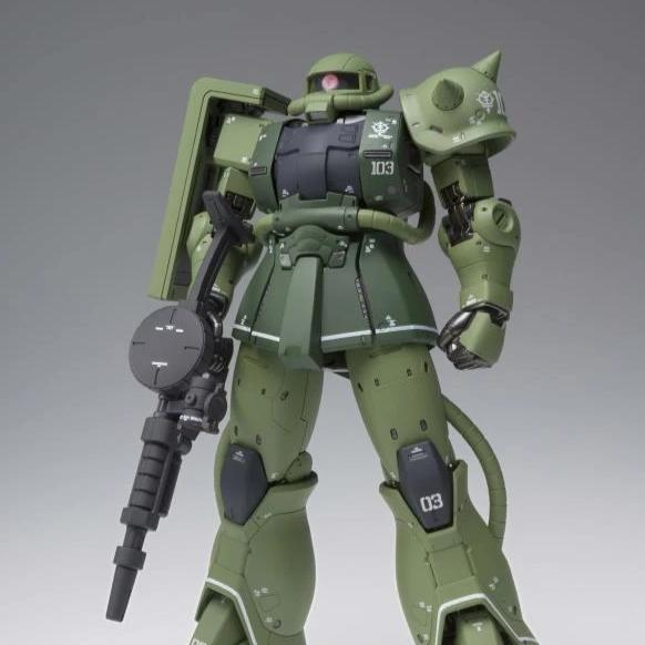 GFFMC Gundam Fix Figuration Metal Composite MS-06C ZAKU II TYPE C