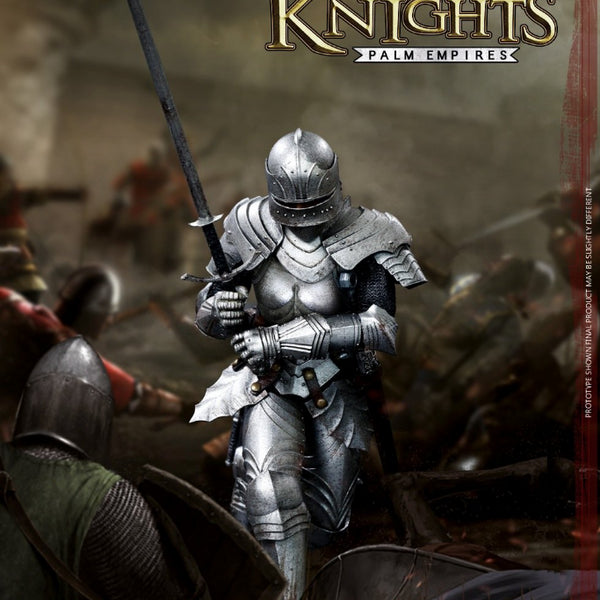Coomodel PE011 Palm Empire Gothic Armored Knight 1/12 Scale Action Figure