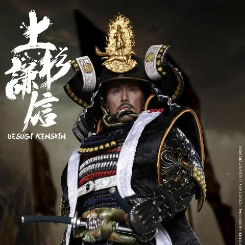 Coomodel CM-SE043 Uesugi Kenshin A.K.A. Dragon of Echigo (Standard Version) 1/6 Scale Action Figure