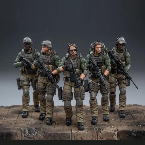 Joy Toy Force Recon Team 1/18 Scale Set