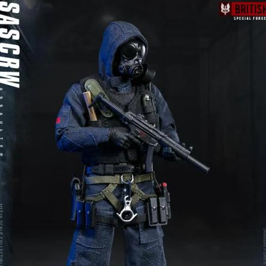 DAMTOYS PES001 1/12 Pocket Elite Series SAS CRW Assaulter Action Figure