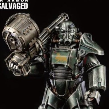 Fallout T-45 NCR Salvaged Power Armor 1/6 Scale Figure