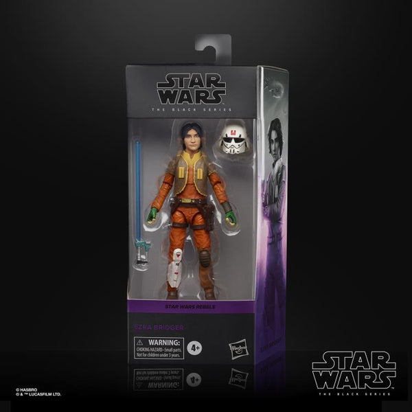 Star Wars The Black Series Ezra Bridger (Rebels) 6-Inch Action Figure