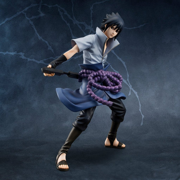 NARUTO MEGAHOUSE G.E.M SERIES UCHIHA SASUKE (4th repeat)