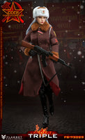 FLAGSET Red Alert Soviet female officer Katyusha 1/6 Scale