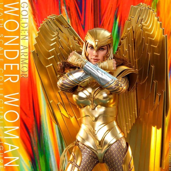 Hot Toys Wonder Woman 1984 Golden Armor Wonder Woman (Deluxe)