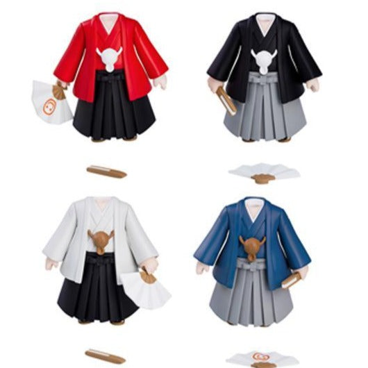 Nendoroid More Nendoroid More: Dress Up Coming of Age Ceremony Hakama (Set of 4 Characters)