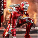Hot Toys Iron Man Mark V Diecast Movie Masterpiece (Reissue) 1/6
