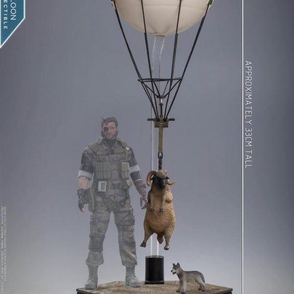 LIM TOYS LiMiNi Extraction Balloon with Sheep and Dog 1/12 Scale