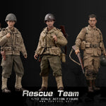 POP Toys 1/12 Scale WWII US Rescue Squad Captain/Shooter/Soldier