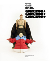 ThreeA SHCC 2018 Ashley Wood Die Antwoord GANGSTA NINJI & LANDI 1/6 Figure