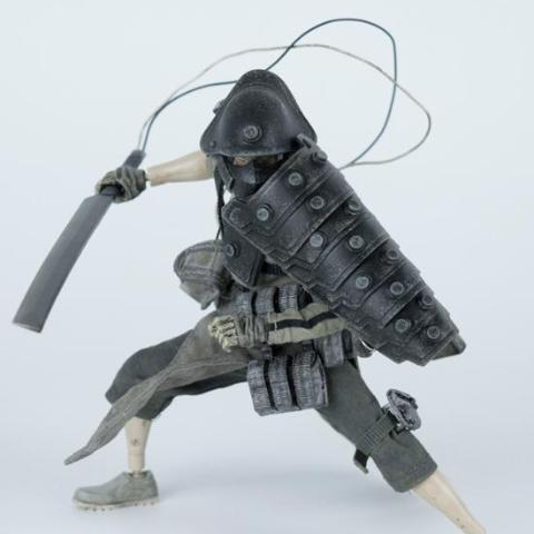 ThreeA Portable Shogun TK Tsuki 1/12 Scale Collectible Figure