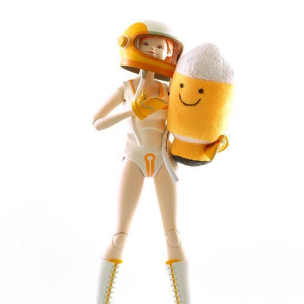 ThreeA THE WORLD OF ISOBELLE PASCHA GIRL ASTRONAUT ISOBELLE AND SUNBUM THE ROCKET