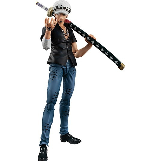 MEAGHOUSE Variable Action Heroes ONE PIECE Trafalgar Law Ver.2