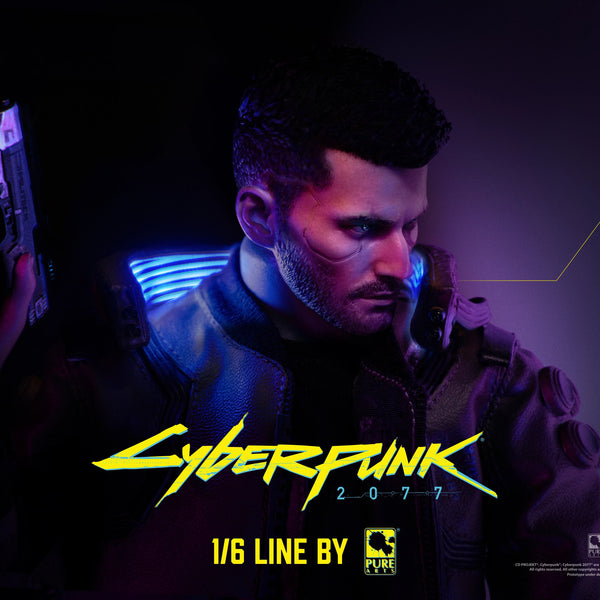 Pure Arts Cyberpunk 2077: V Male 1/6 Articulated Figurine