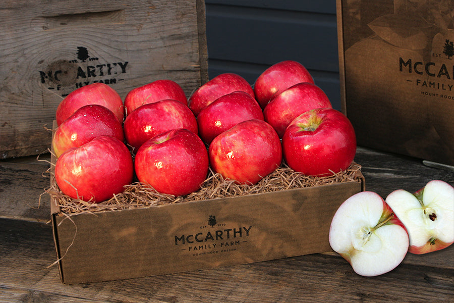 Mount Hood Apple Fruit Gift Box