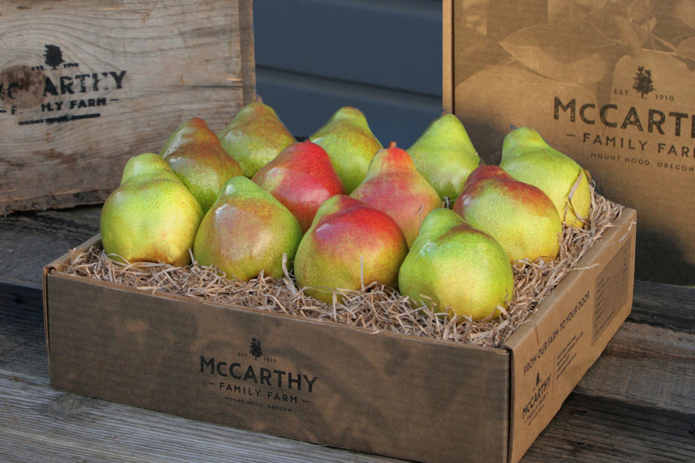 Mount Hood Pears Gourmet Fruit Gift Box