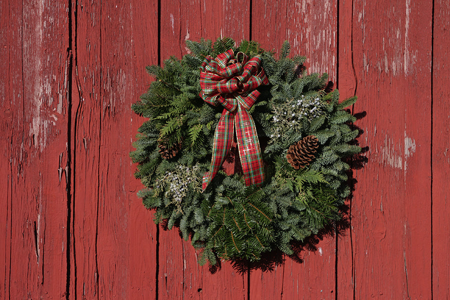 Christmas Wreath Grown in Oregon