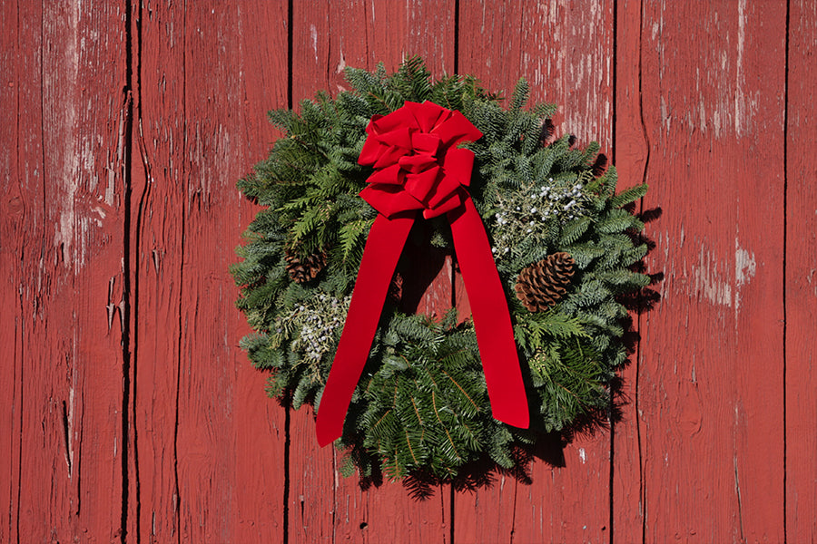 Traditional Holiday Wreaths from Mount Hood Oregon