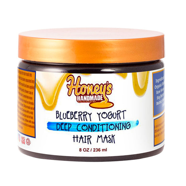 Blueberry Yogurt Deep Conditioning Hair Mask - Honey's Handmade