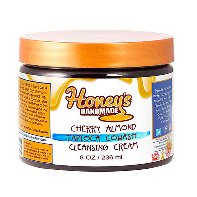 Cherry Almond Tapioca CoWash Cleansing Conditioning Cream - Honey's Handmade