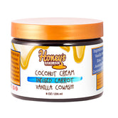Coconut Cream Infused Carrot & Vanilla Cowash