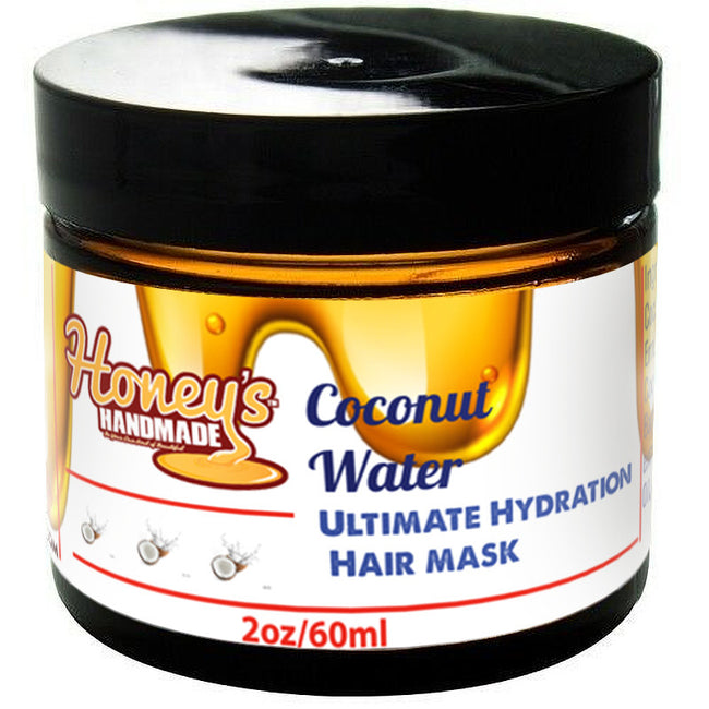 Coconut Water Ultimate Hydration Mini Hair Mask - Honey's Handmade