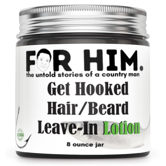 Get Hooked  Hair/Beard  Leave-In Lotion - Honey's Handmade