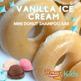 Kids Mini Vanilla Ice Cream Donuts