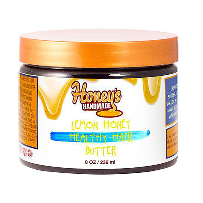 LEMON HONEY HEALTHY HAIR BUTTER - Honey's Handmade